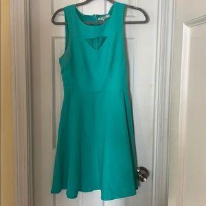 Turquoise Lauren Conrad dress